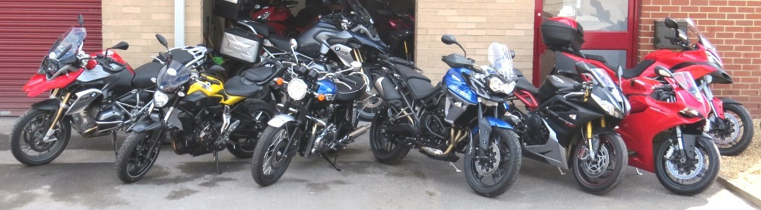 Where will you go? Full Service motorcycle hire from RoadTrip. Woking, Surrey. UK. +44 (0)1483 662 135