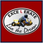 Excelerate motorcycle training logo - a RoadTrip partner